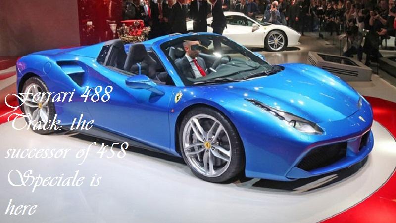 Ferrari 488 Track