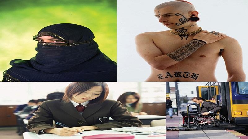 Stereotypes, prejudices and discrimination