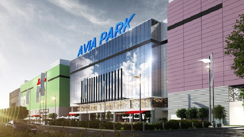 shopping centers in Russia