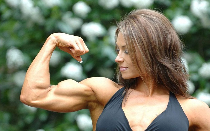 muscle mass be built