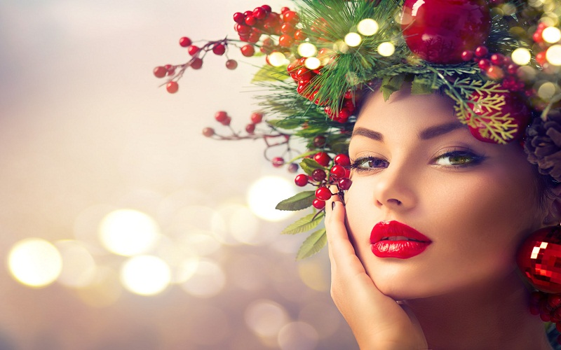 the Christmas fashion