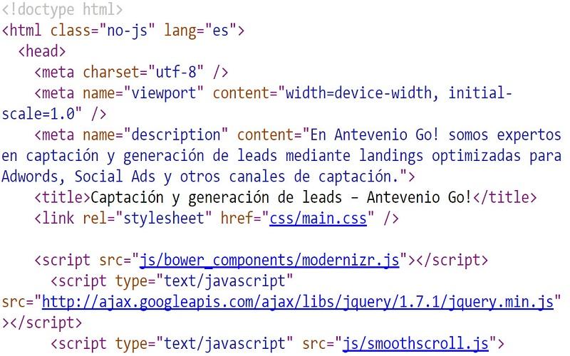 Website metadata
