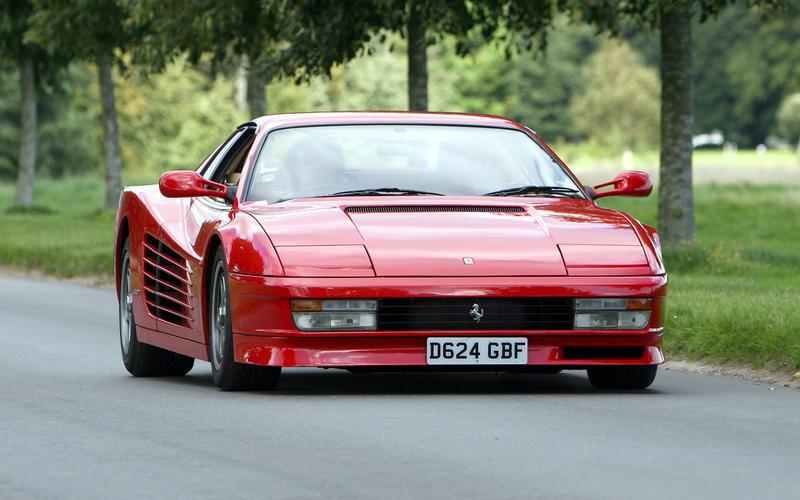 Anniversary of Ferrari Testarossa