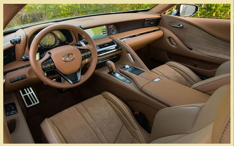 The elegant Lexus LC 2021